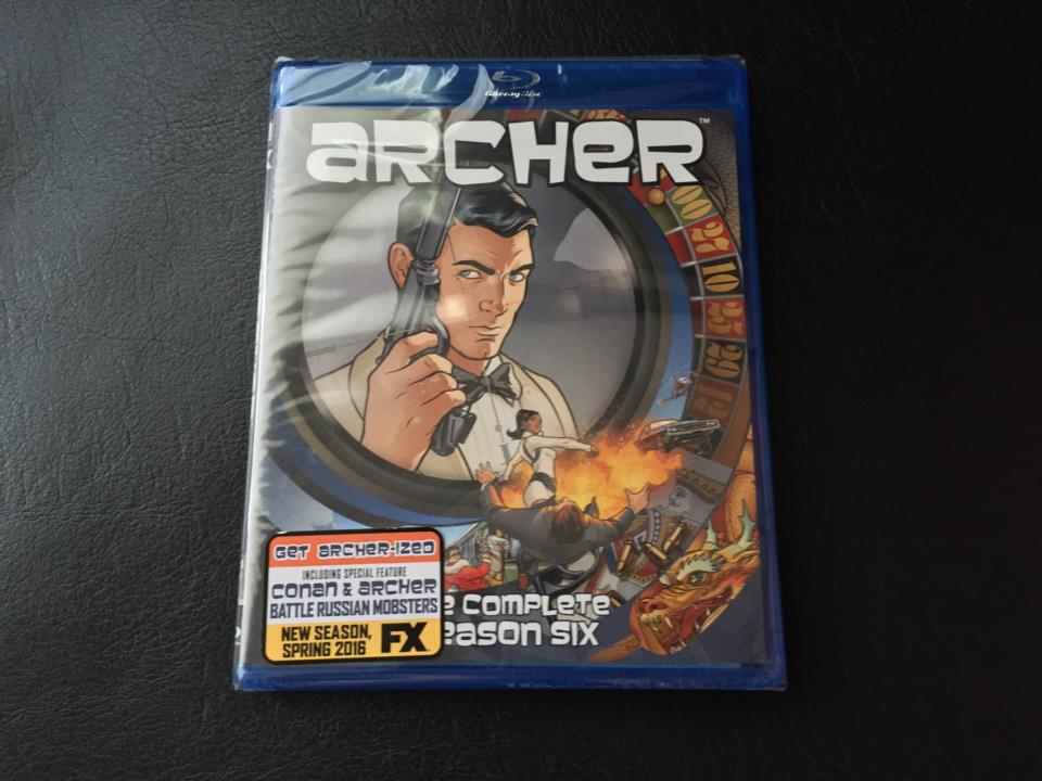 archer THE COMPLETE SEASON 6 (US)