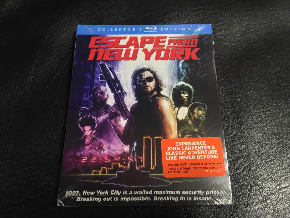 ESCAPE FROM NEW YORK COLLECTOR'S EDITION (US)