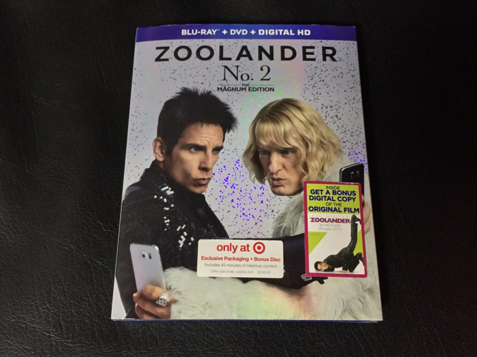 ZOOLANDER No. 2 THE MAGNUM EDITION (US)