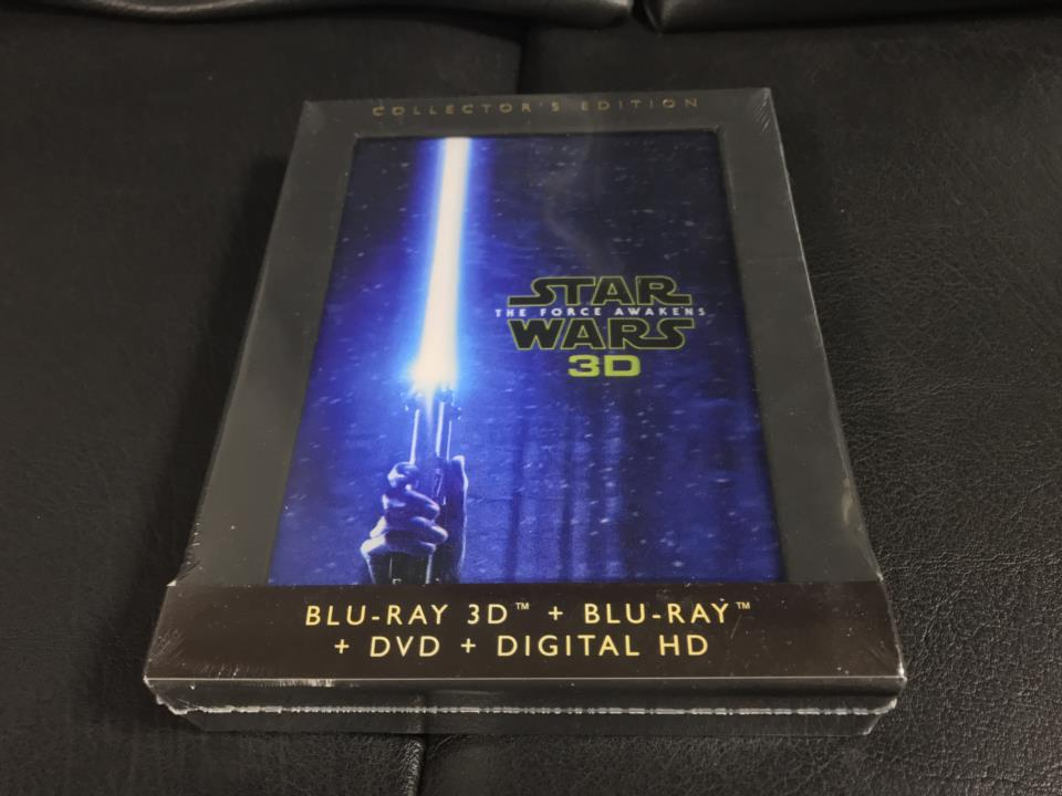 STAR WARS: THE FORCE AWAKENS 3D COLLECTOR'S EDITION (US)