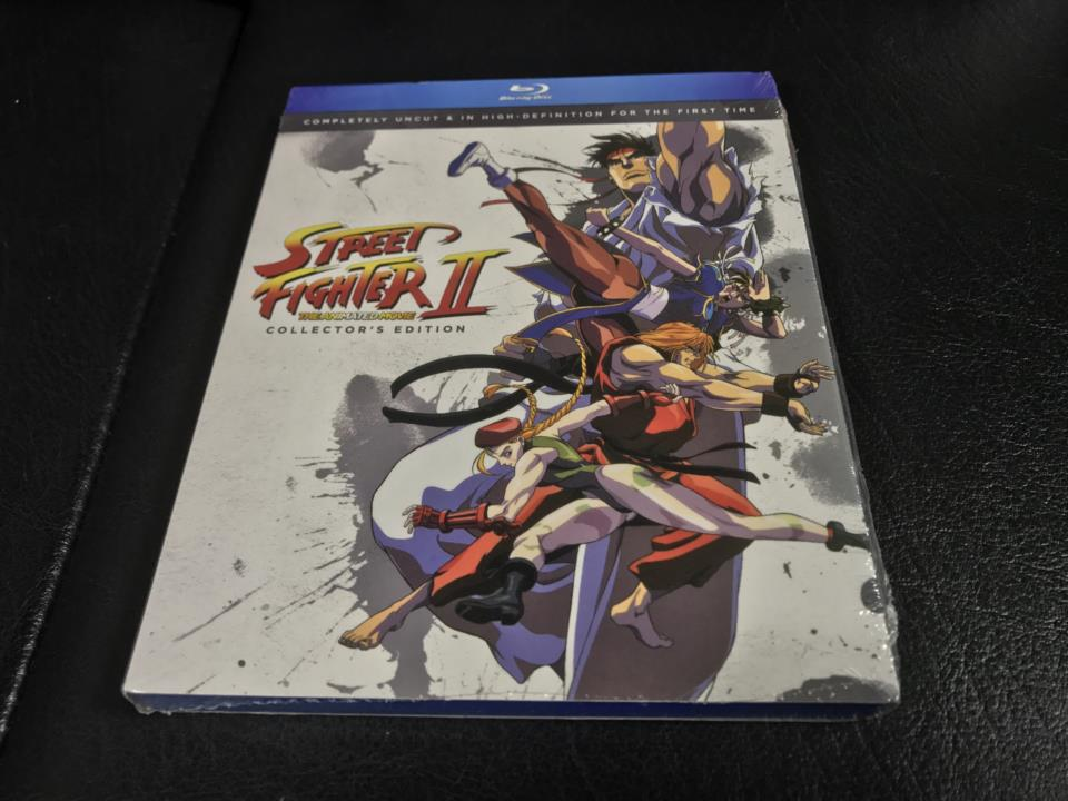 STREET FIGHTER II THE ANIMATED MOVIE COLLECTOR'S EDITION (US)