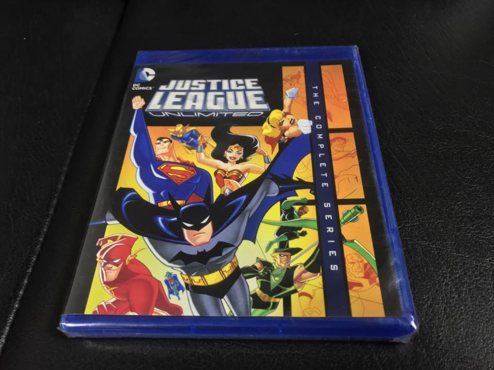JUSTICE LEAGUE UNLIMITED THE COMPLETE SERIES (US)