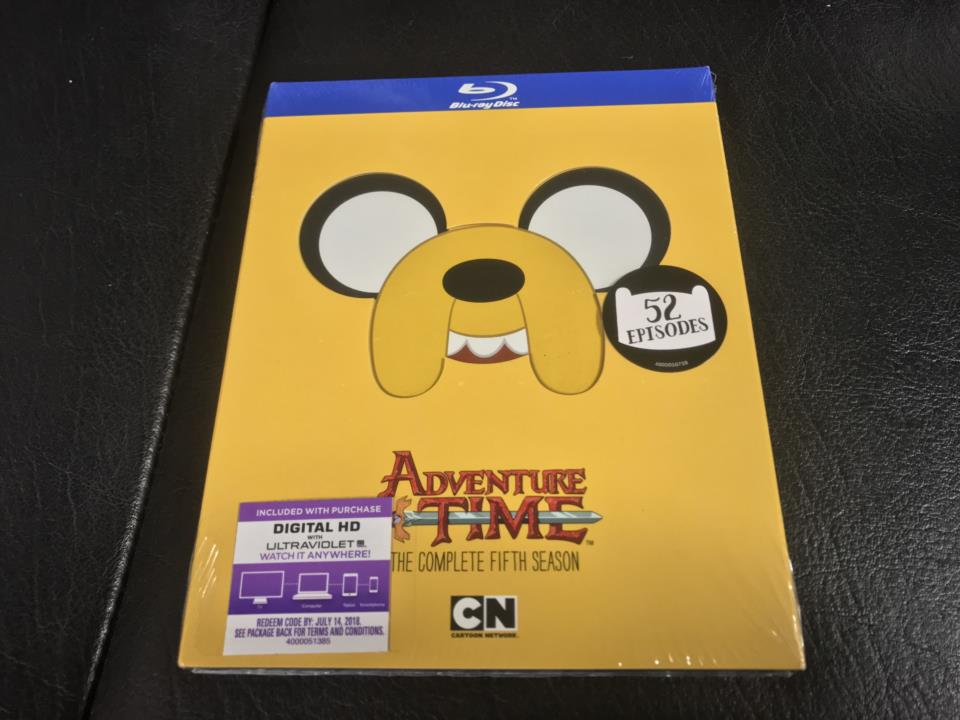 ADVENTURE TIME THE COMPLETE 5TH SEASON (US)