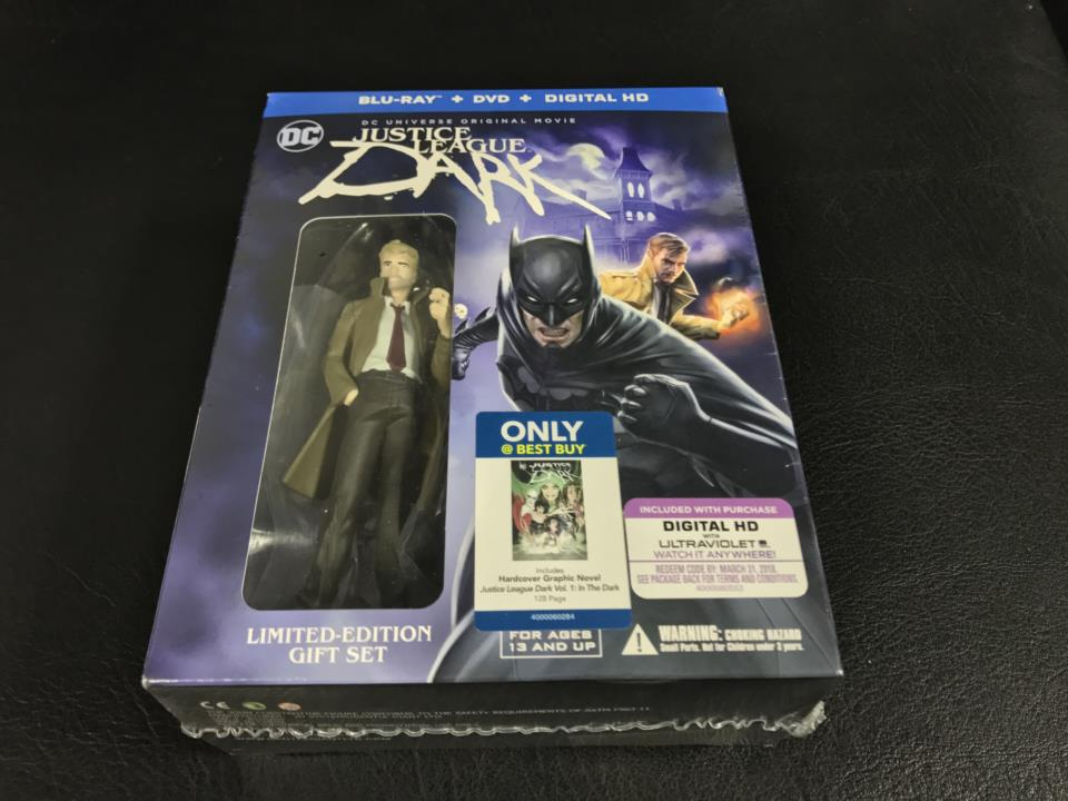 JUSTICE LEAGUE DARK LIMITED-EDITION GIFT SET (US)