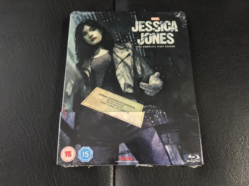 JESSICA JONES THE COMPLETE 1ST SEASON (UK)