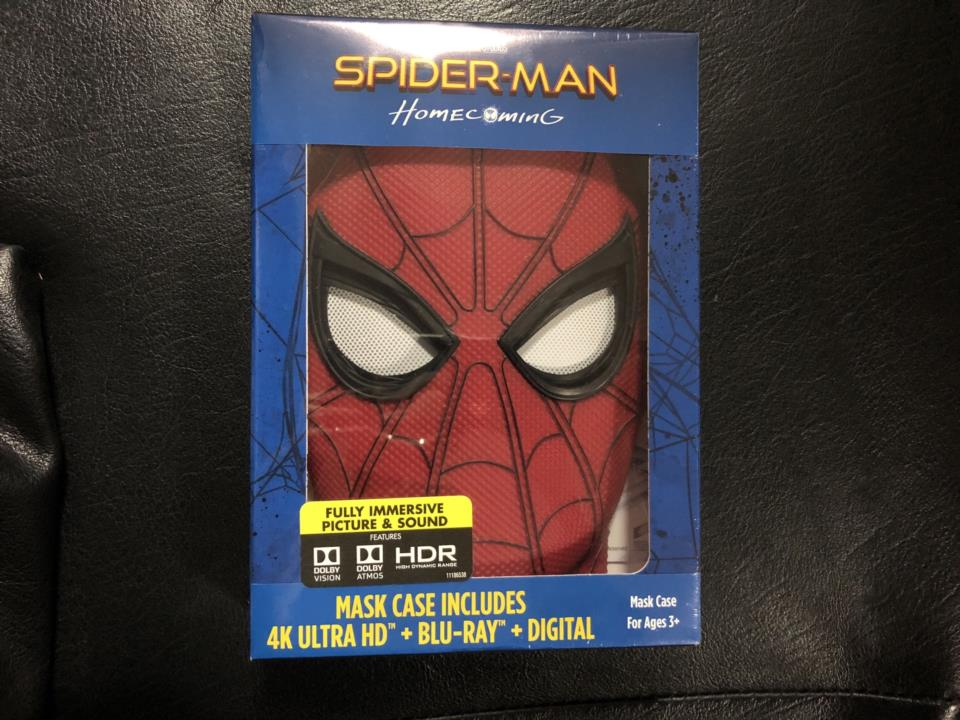 SPIDER-MAN: HOMECOMING MASK CASE (US)