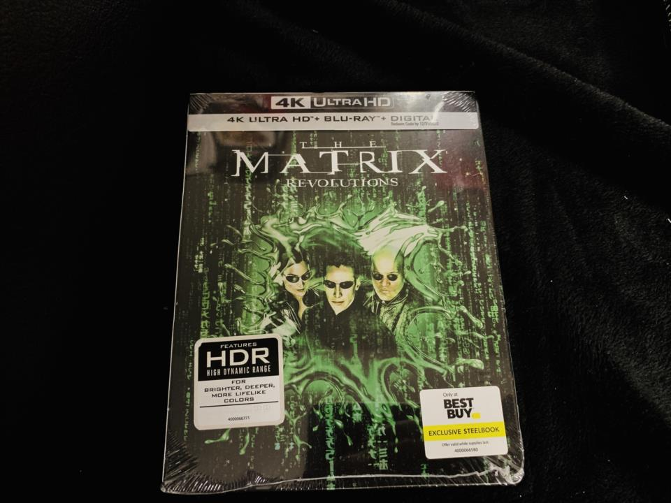 THE MATRIX REVOLUTIONS (US)