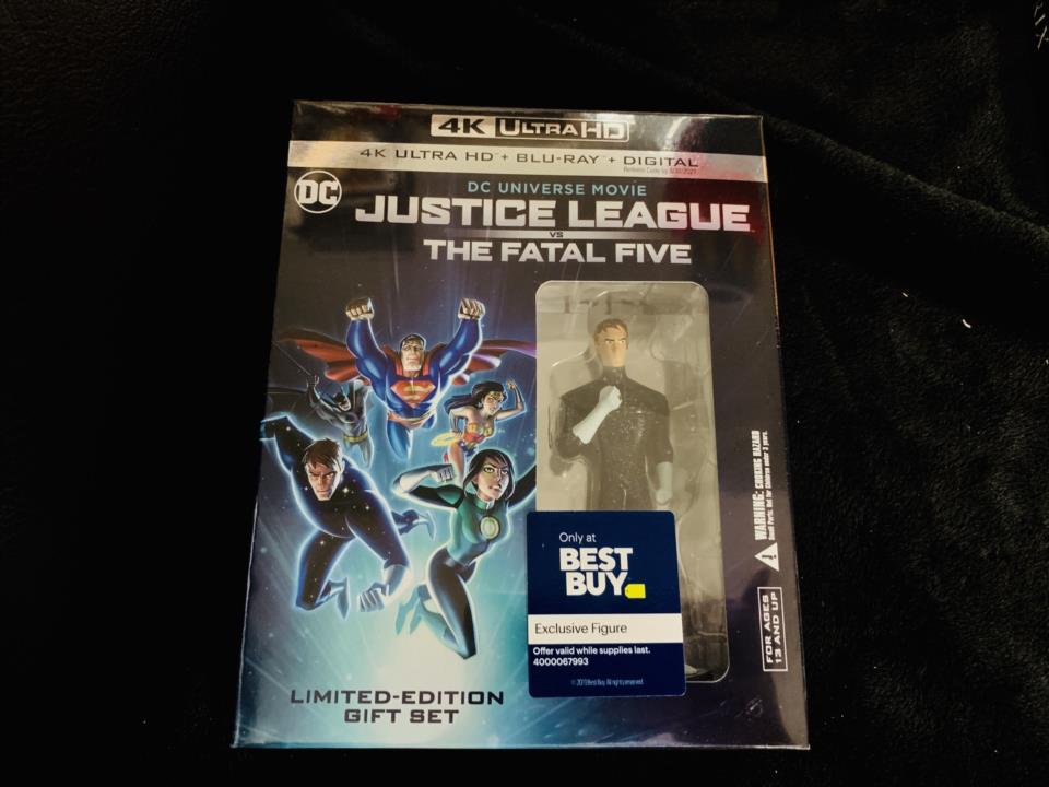 JUSTICE LEAGUE VS THE FATAL FIVE LIMITED-EDITION GIFT SET (US)