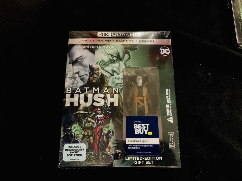 BATMAN HUSH LIMITED-EDITION GIFT SET (US)