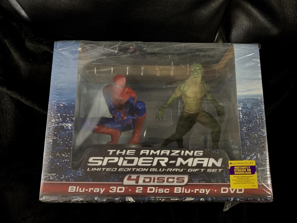 THE AMAZING SPIDER-MAN LIMITED EDITION BLU-RAY GIFT SET (US)