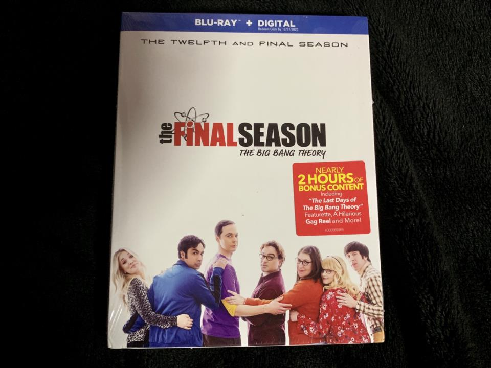 the BiG BANG THEORY THE COMPLETE 12TH AND FINAL SEASON (US)