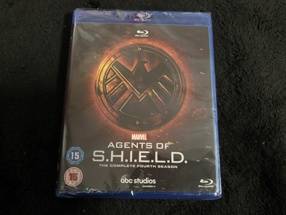 AGENTS OF S.H.I.E.L.D. THE COMPLETE 4TH SEASON (UK)