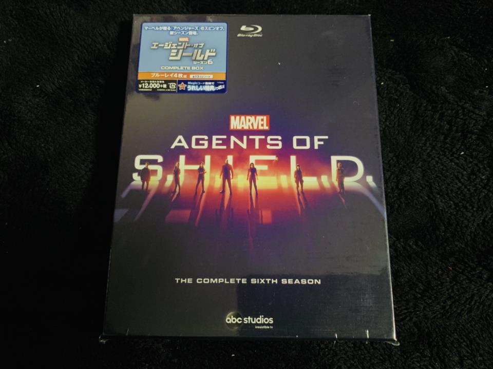 AGENTS OF S.H.I.E.L.D. THE COMPLETE 6TH SEASON (Japan)