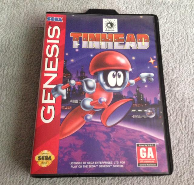 TINHEAD (US) by MICRO PROSE UK (Action Platformer 2nd print