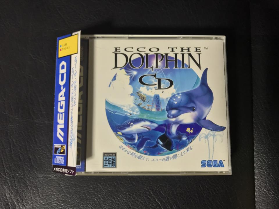 ECCO THE DOLPHIN CD (Japan) by NOVOTRADE (Action Used