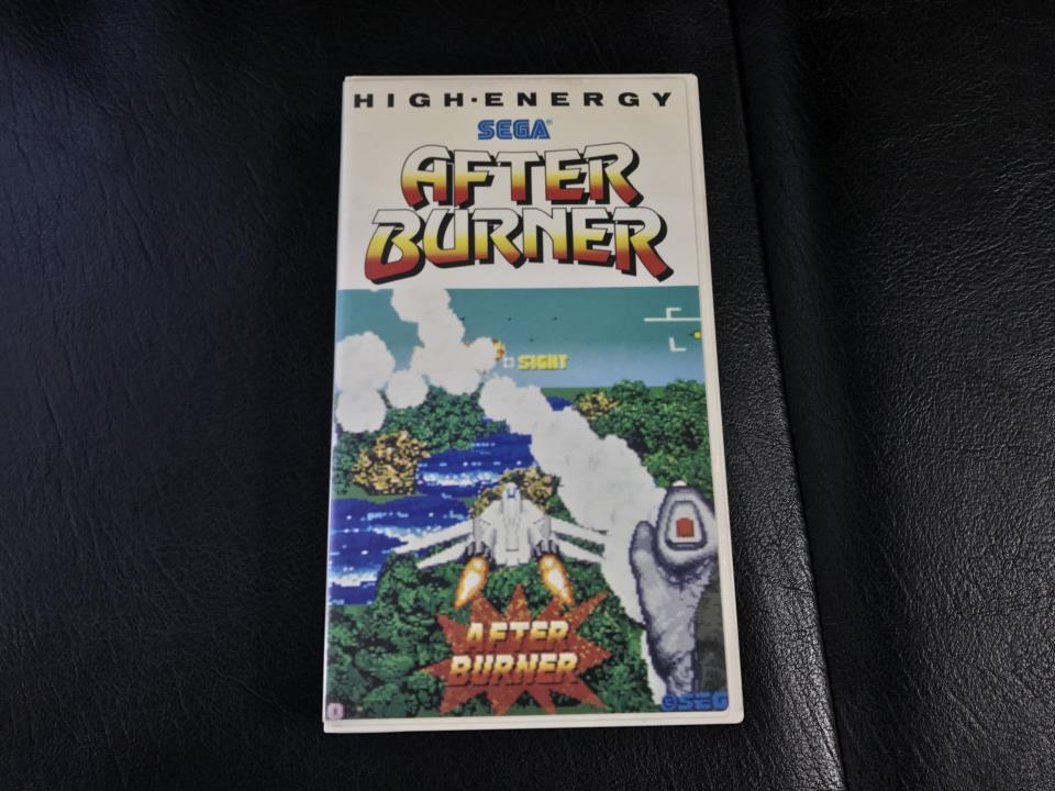 AFTER BURNER HIGH ENERGY (Japan)