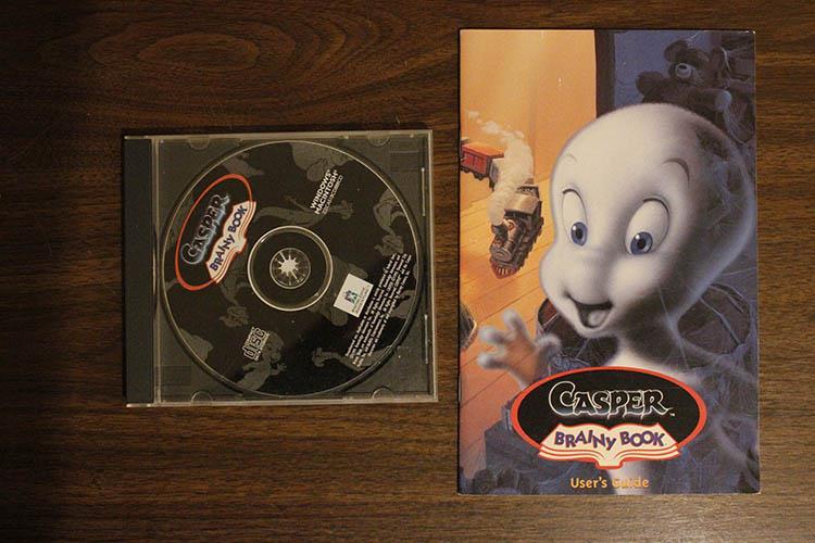 Casper: Brainy Book