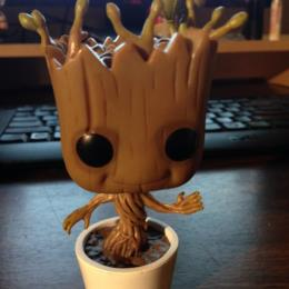 Dancing Groot POP! Bobble