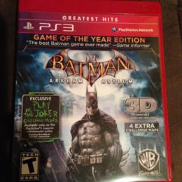 Batman: Arkham Asylum: GOTY Edition
