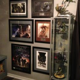 Weta Halo Collection with matted Halo Prints