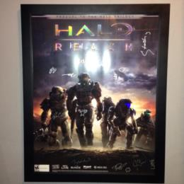 Halo Reach Launch Poster