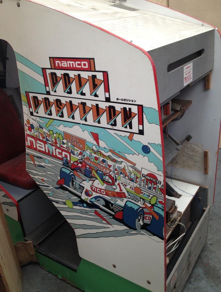 Pole Position cockpit