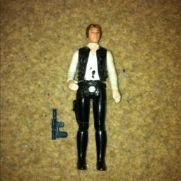 Han Solo Small Head