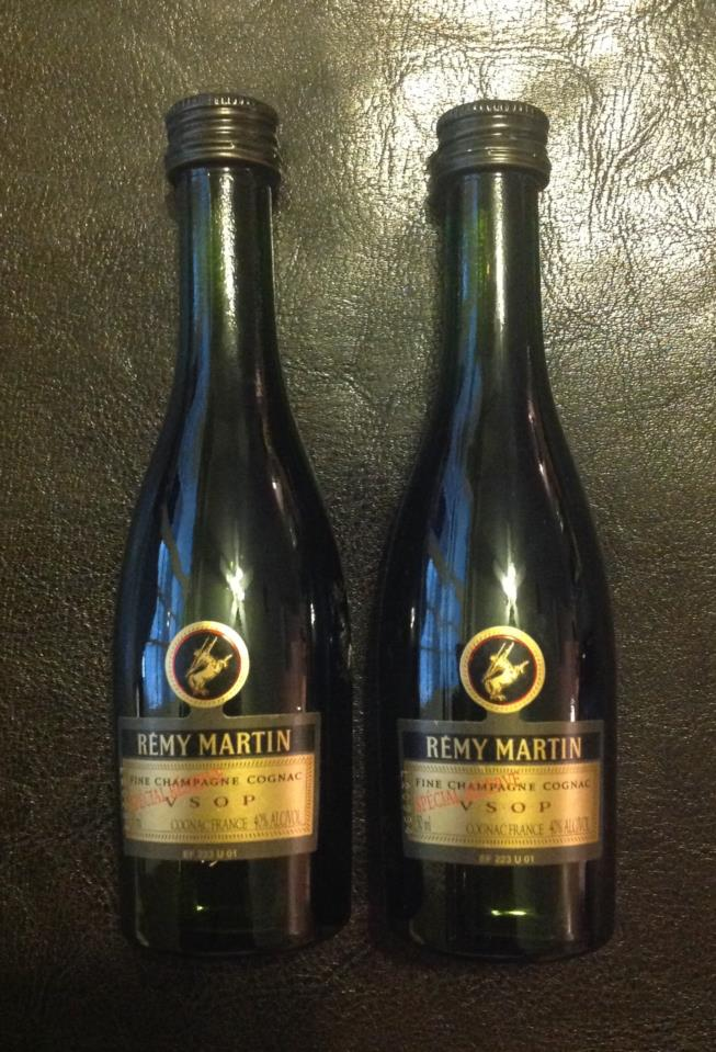 Champagne Cognac Remy Martin