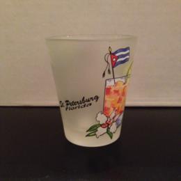 St. Petersburg Florida Shot Glass