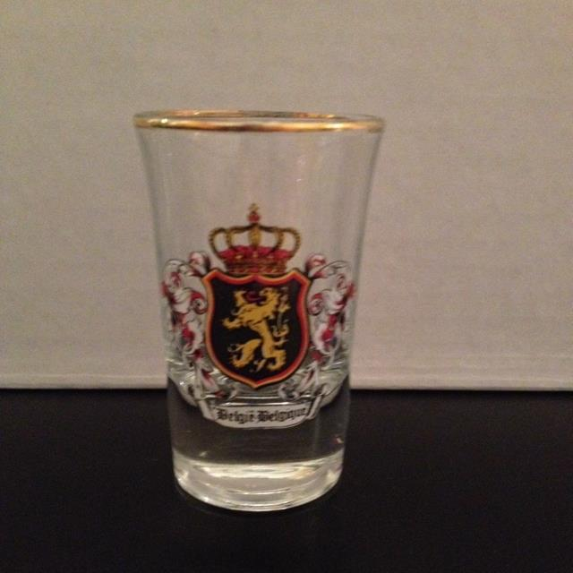 Belgie Belgique Shot Glass