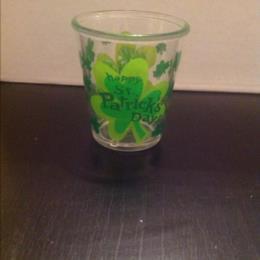 St. Patrick Day Shot Glass