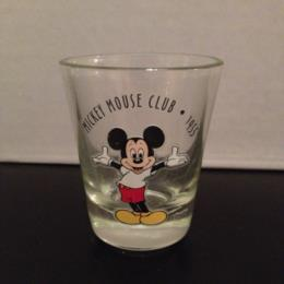 Mickey Mouse Club 1955 Shot Glass