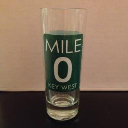 Key West Mile 0 Florida Shot Glass