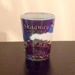 Alaska Skagway Shot Glass