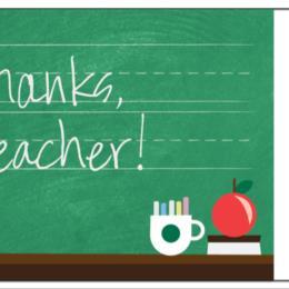 Thanks, Teacher! (1)