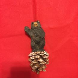 WL Brown Bear Standing Ornament