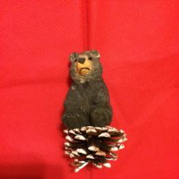 WL Brown Sitting Bear Ornament