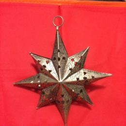 WL Metal Star Ornament
