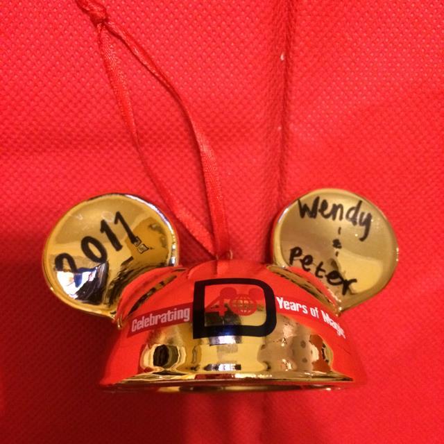 Disney 40th Anniversary Ear
