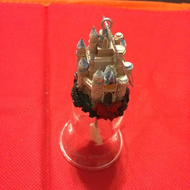 Disney Castle Crystal Bell