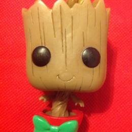 Guardians of the Galaxy Ravagers Logo Dancing Groot Pop