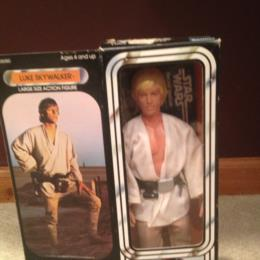 Star Wars Large Size Action Figures 1979