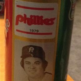 1979 Phillies Ginger Ale Soda Cans
