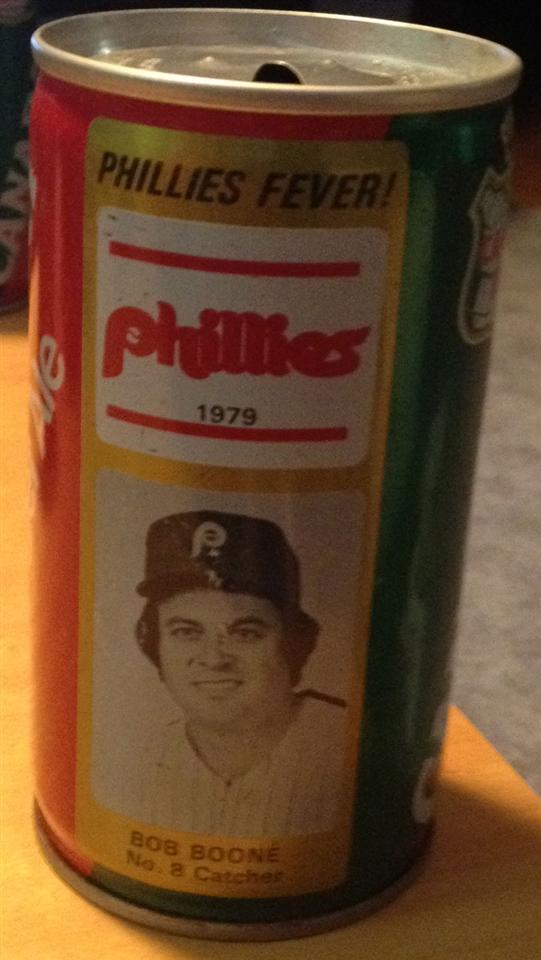 1979 Bob Boone Ginger Ale Can