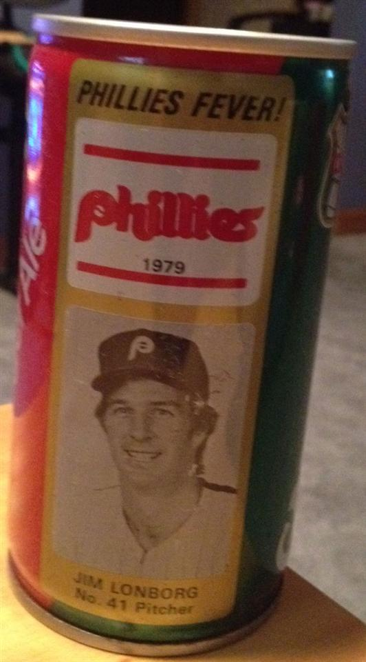 1979 Jim Lonborg Ginger Ale Can