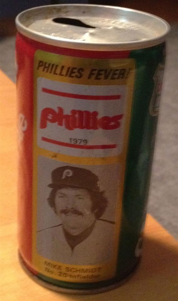 1979 Mike Schmidt Ginger Ale Can