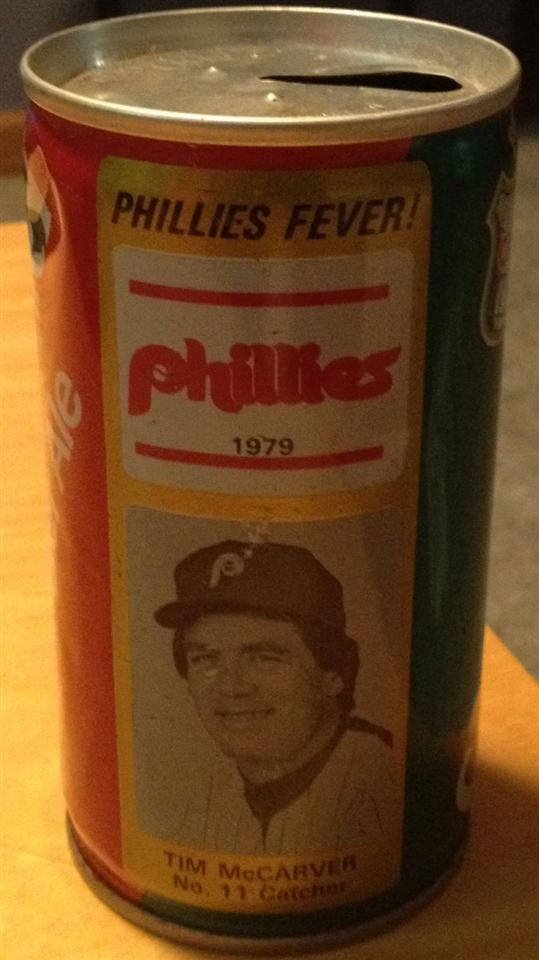 1979 Tim McCarver Ginger Ale Can