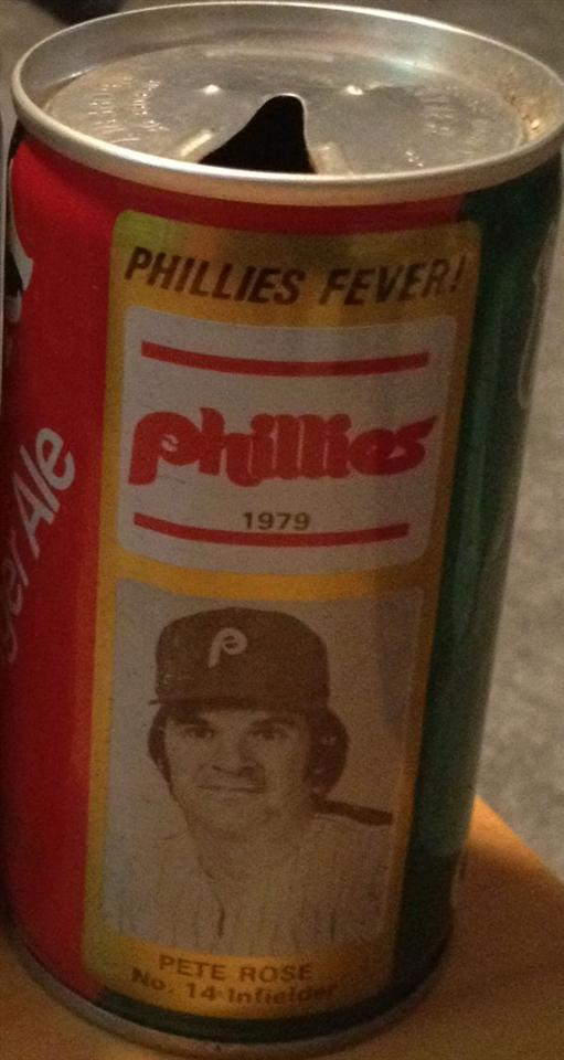 1979 Pete Rose Ginger Ale Can