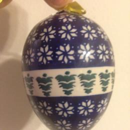 Blue Upside Down Tree Ornaments
