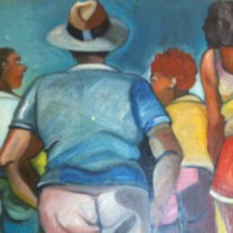 Painting Cynthia White